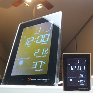 LCD RADIO CLOCK FUZE ホワイト