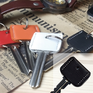 LEATHER KEY COVERブラック
