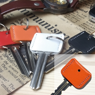 LEATHER KEY COVERオレンジ